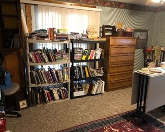 books and furniture ,cookbooks -religious and more
