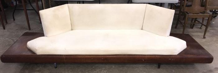 Adrian Pearsall Craft Assoc. Mid Century Platform Sofa Model 2006-S