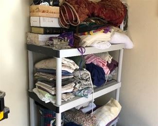 sheets, towels, blankets. sewing fabric