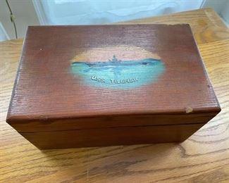 USS Tilefish box