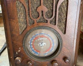 Crosley vintage radio