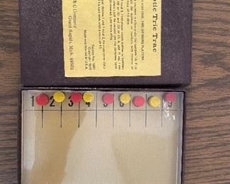 Vintage magnetic Tric Trac