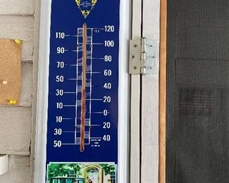 Vintage Packard thermometer