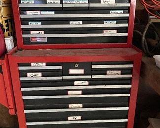 Vintage Craftsman tool chest