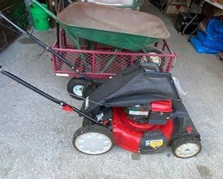 Troy Bilt lawnmower