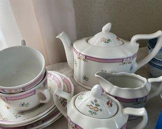 Vintage Laura Ashley tea set
