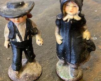Cast iron figurines