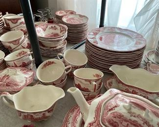 Johnson Brothers dishes - English castles
