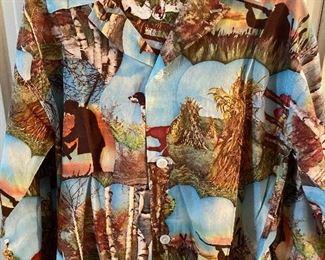 Vintage men's hunting pajamas - near mint