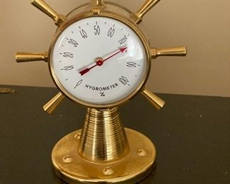 Hygrometer/thermometer from France