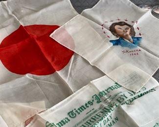 WW II handkerchiefs