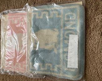 Antique Esmond baby blankets