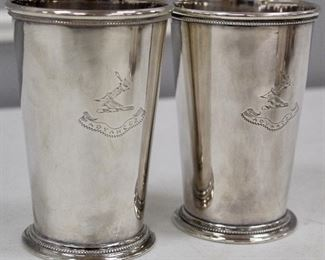 Patrick Henry Mint Julep Cups