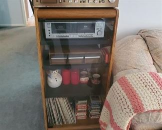 Stereo, Cassettes, Record Albums and 8 track tapes