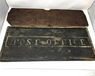 Antique Post Office  1696 SW Engraved Signs