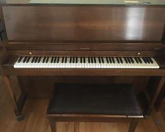 Baldwin Piano and bench