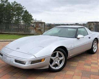 1996 Corvette Collector's Edition - to see more details and photos of this vehicle and enter your bid, visit www.aikenvintage.hibid.com
