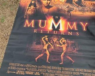 Vinyl Movie Banner $125.00