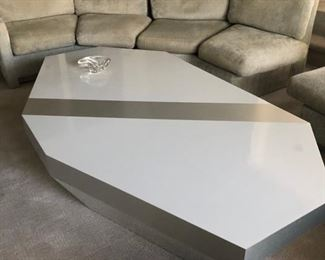 Modern 1970's coffee table
