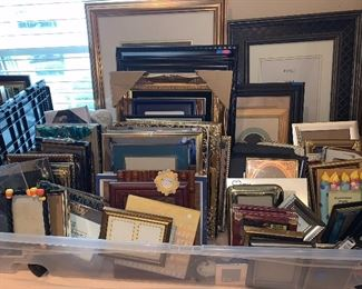 Brand new frames of all sizes