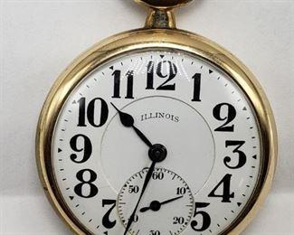 Illinois , Bunn Special , Railroad Watch, 21 Jewel, Size 16
