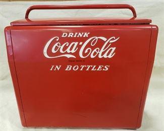 Vintage Metal Coca-Cola Cooler