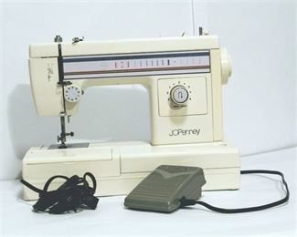 JCPenny Sewing Machine with Electronic Foot Pedal