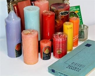 Large Variety Candle Lot