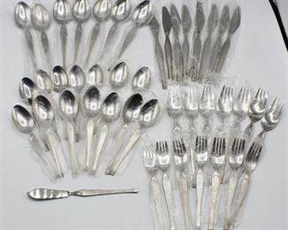 44 pc Stainless Silverware Maribo by Stanley Roberts