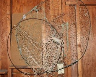 2 Old Fishing Nets