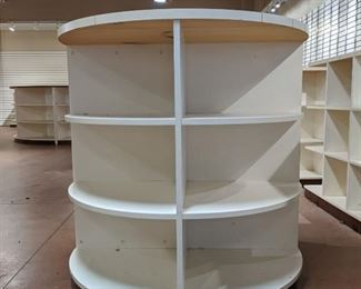 Round Retail Display