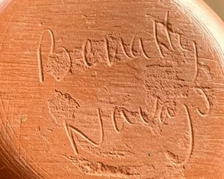 Benally Navajo Etched Pottery #1