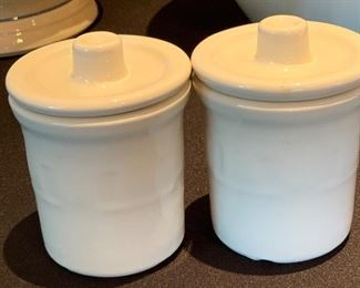 Longaberger Pottery containers