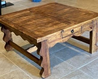 Rustic Mexico Coffee Table	20x40x40in	HxWxD