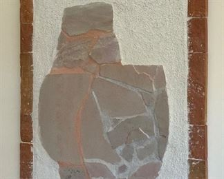 Danny Hole Flagstone Vessel Art	31.5x25.5