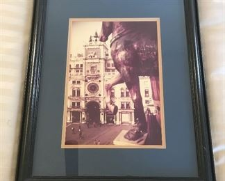 Framed photograph of Cathedral	23x18.5