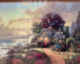 Thomas Kinkade A New Day is Dawning