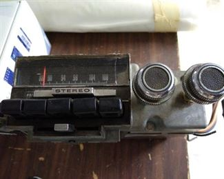 Late 60s Ford radio