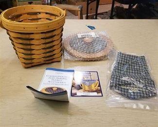 Longaberger commemorative barn-raising basket