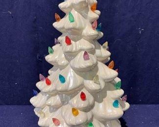 Little Ceramic Christmas Tree https://ctbids.com/#!/description/share/329947