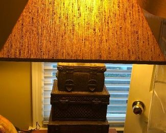 "Luggage lamp. This should be kept as a warning at the bedside of anyone attempting a relationship -- okay I'm jaded. Cher has been happily married for a million years. Me? I am ""self-partnered."""