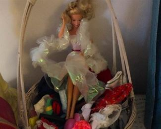 Barbie living in her own bubble.