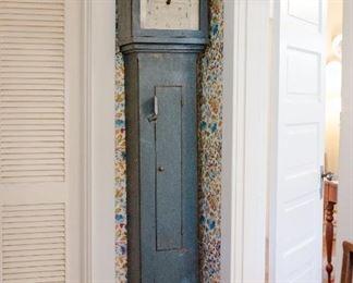 "Tall case S. Thomas clock marked ""Plymouth"""