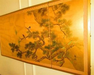 Japanese Table Screen, Late 19th/ Early 20th c.
