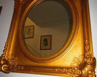 Mid 19th c. Gilt Mirror