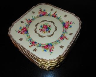 "Bohemia Royal Ivory ""Countess"" Luncheon Plates"