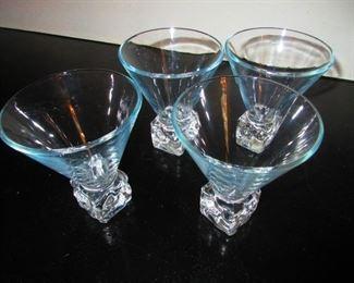 Mid Century Modern Cocktail Glasses