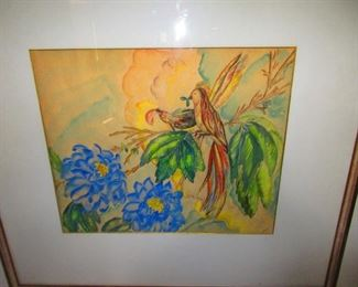 Florence Easly Watercolor