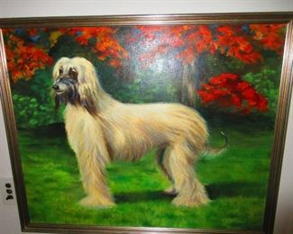 Oil on Canvass signed H.W. Goldsword
