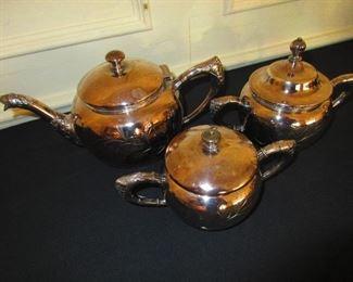 Silvered Tea Service